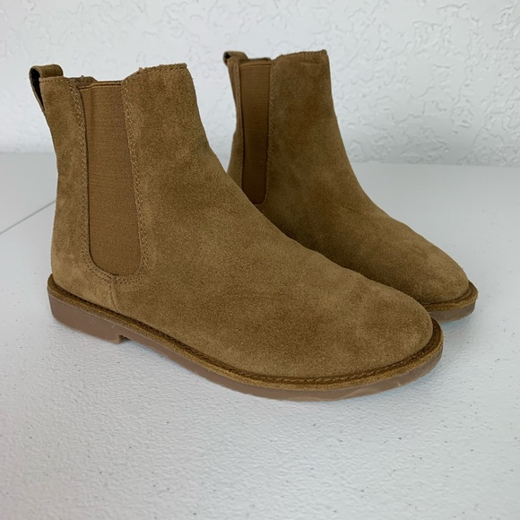 Lands' End Other - Lands End boys Chelsea boot brown suede size 1